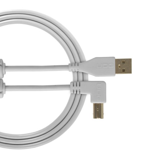 USB 2.0 A-B White