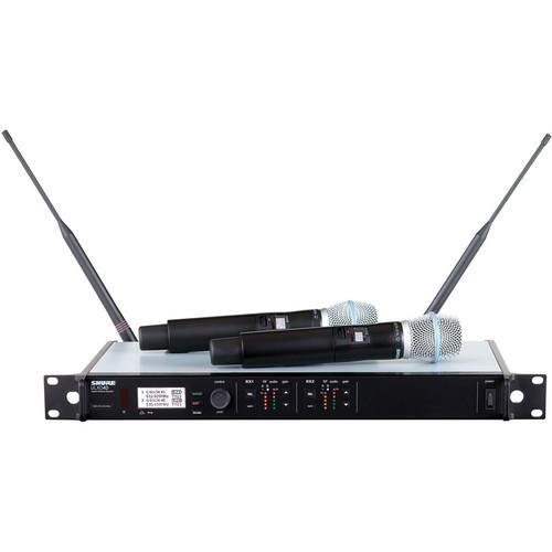 זוג מיקרופונים אלחוטיים Shure ULXD24DE SM86