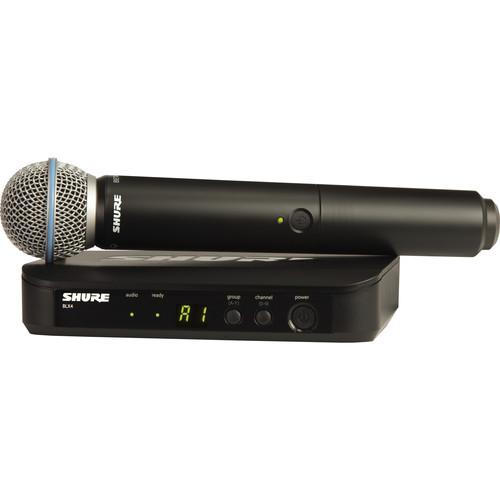 מיקרופון אלחוטי Shure BLX24 B58