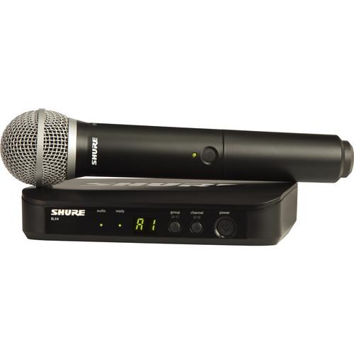 מיקרופון אלחוטי Shure BLX24 PG58
